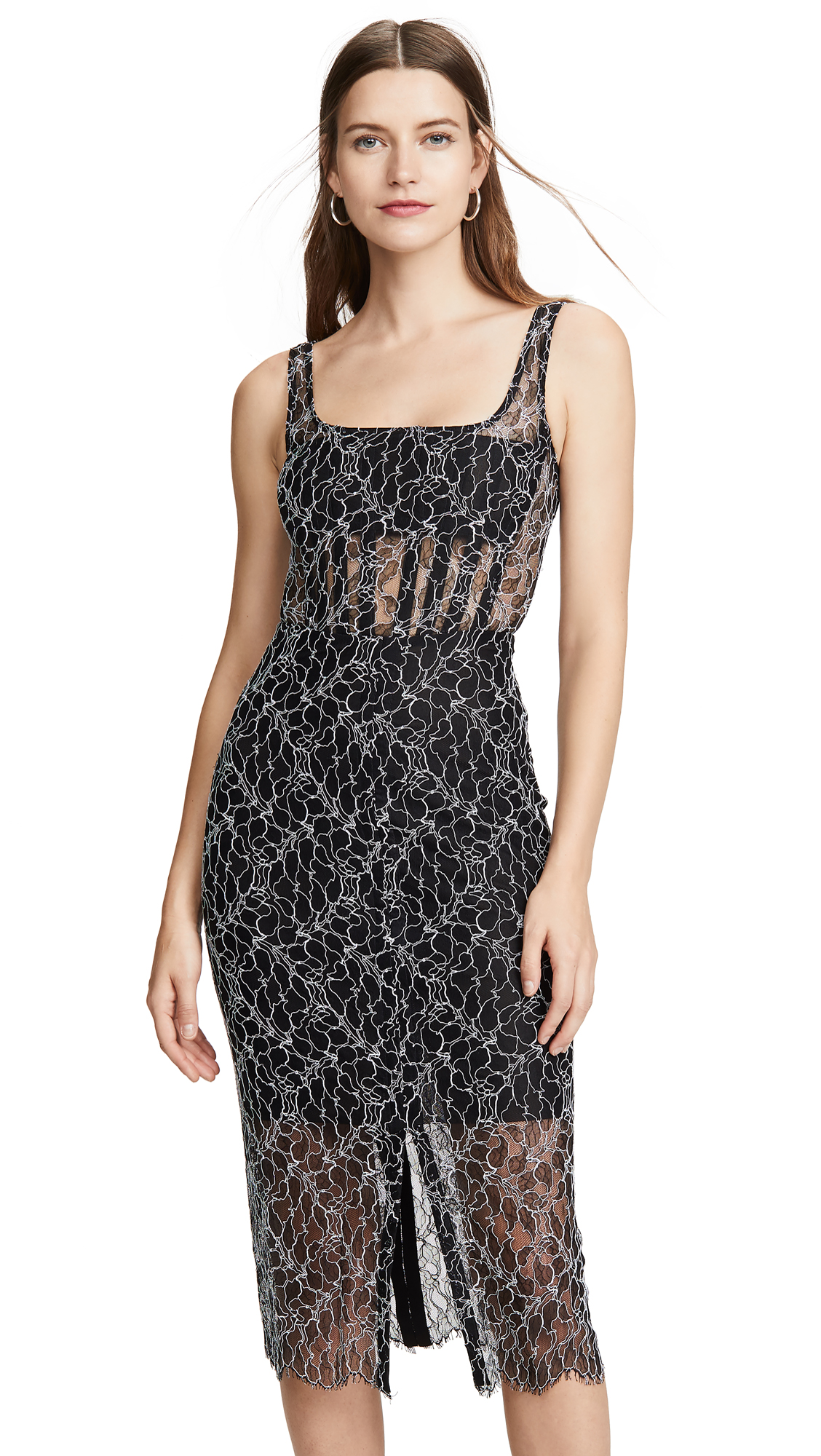 Dion Lee Vein Lace Corset Dress - 70% Off Sale