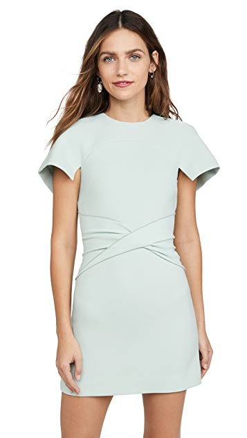 Dion Lee Crepe Concave Mini Dress