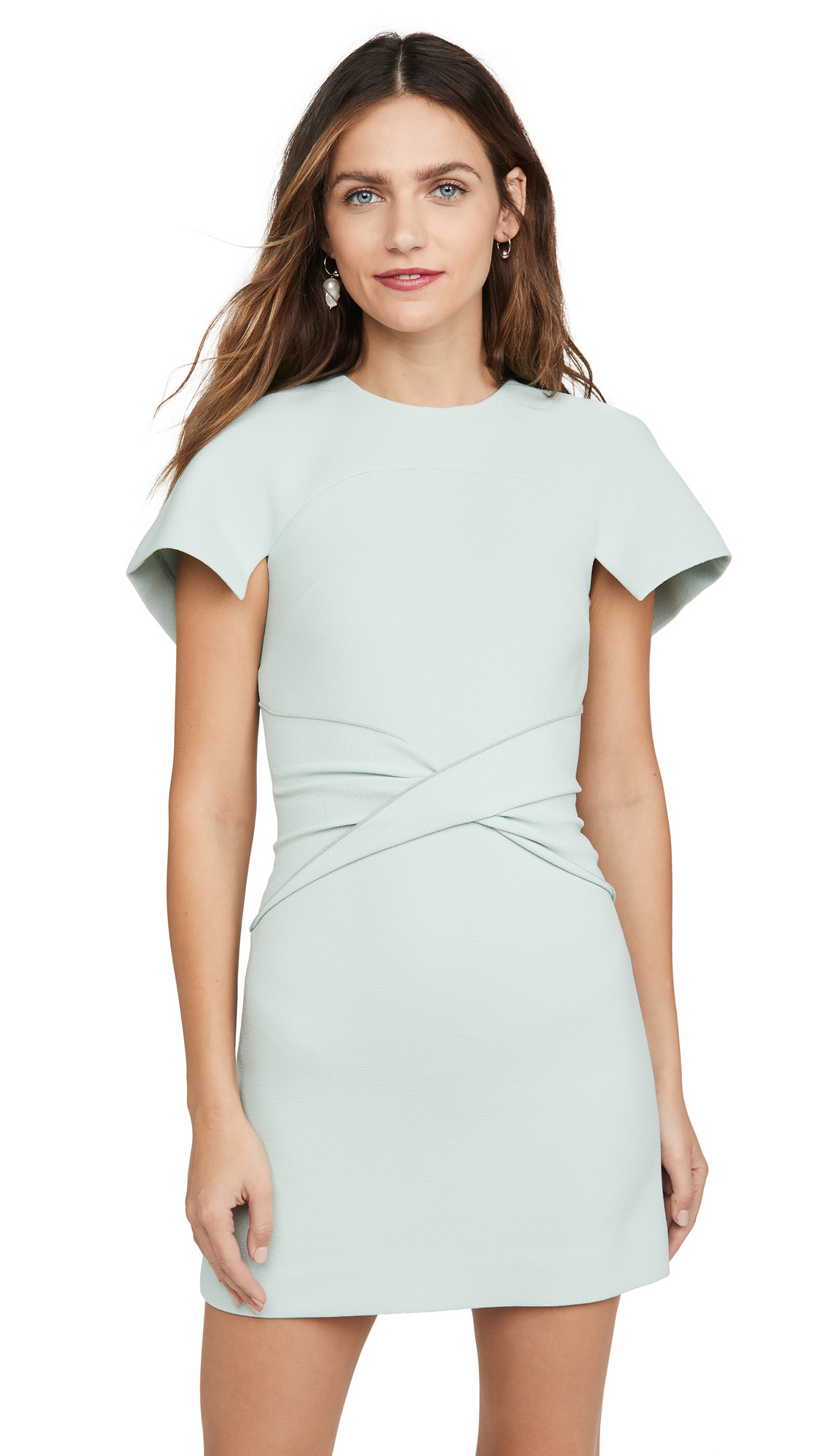 Buy Dion Lee online - photo of Dion Lee Crepe Concave Mini Dress
