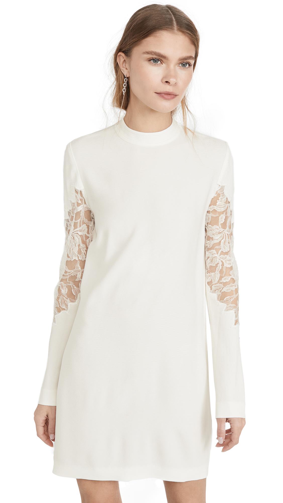 Dion Lee Lace Applique Mini Long Sleeve Dress - 40% Off Sale