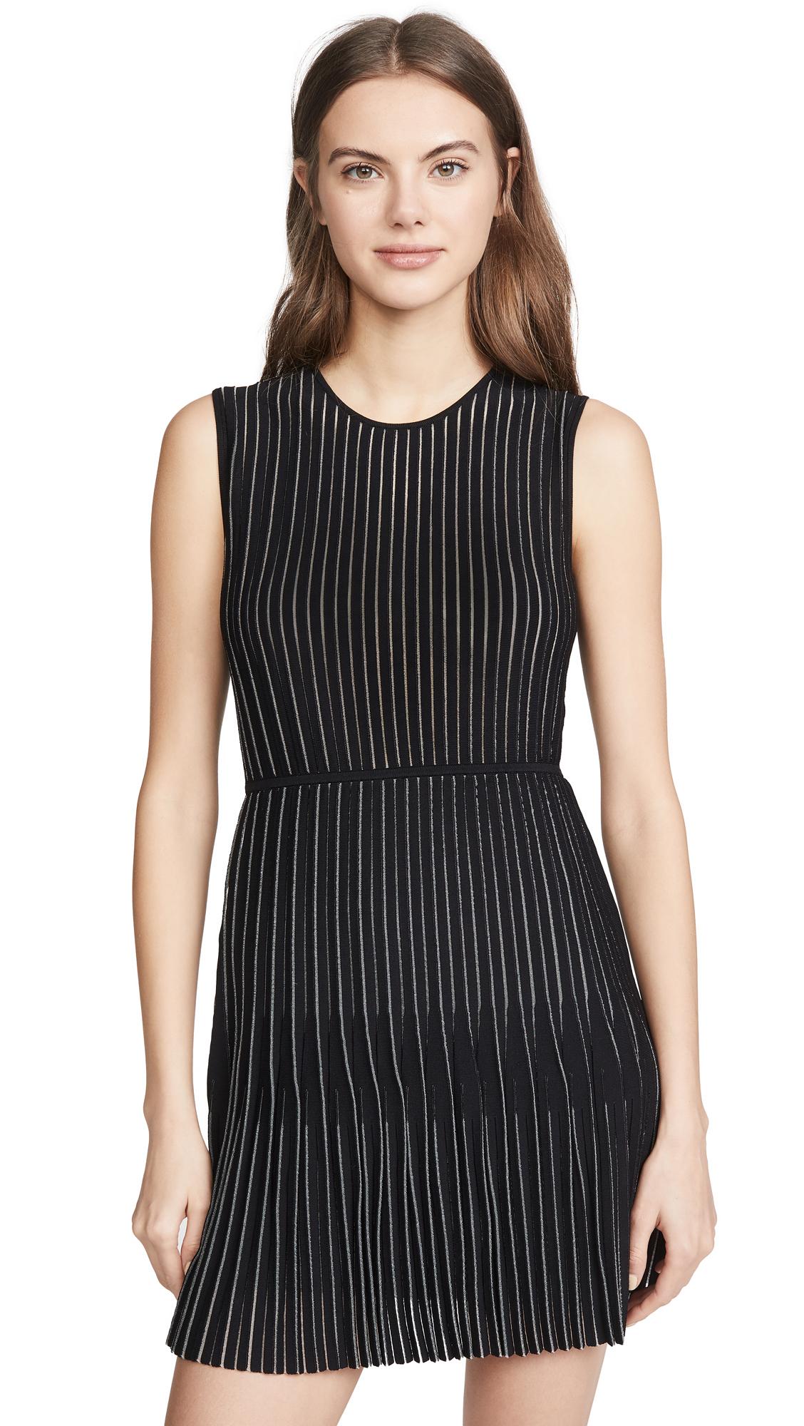 Photo of Dion Lee Godet Pleat Mini Dress - shop Dion Lee Clothing, Dresses online