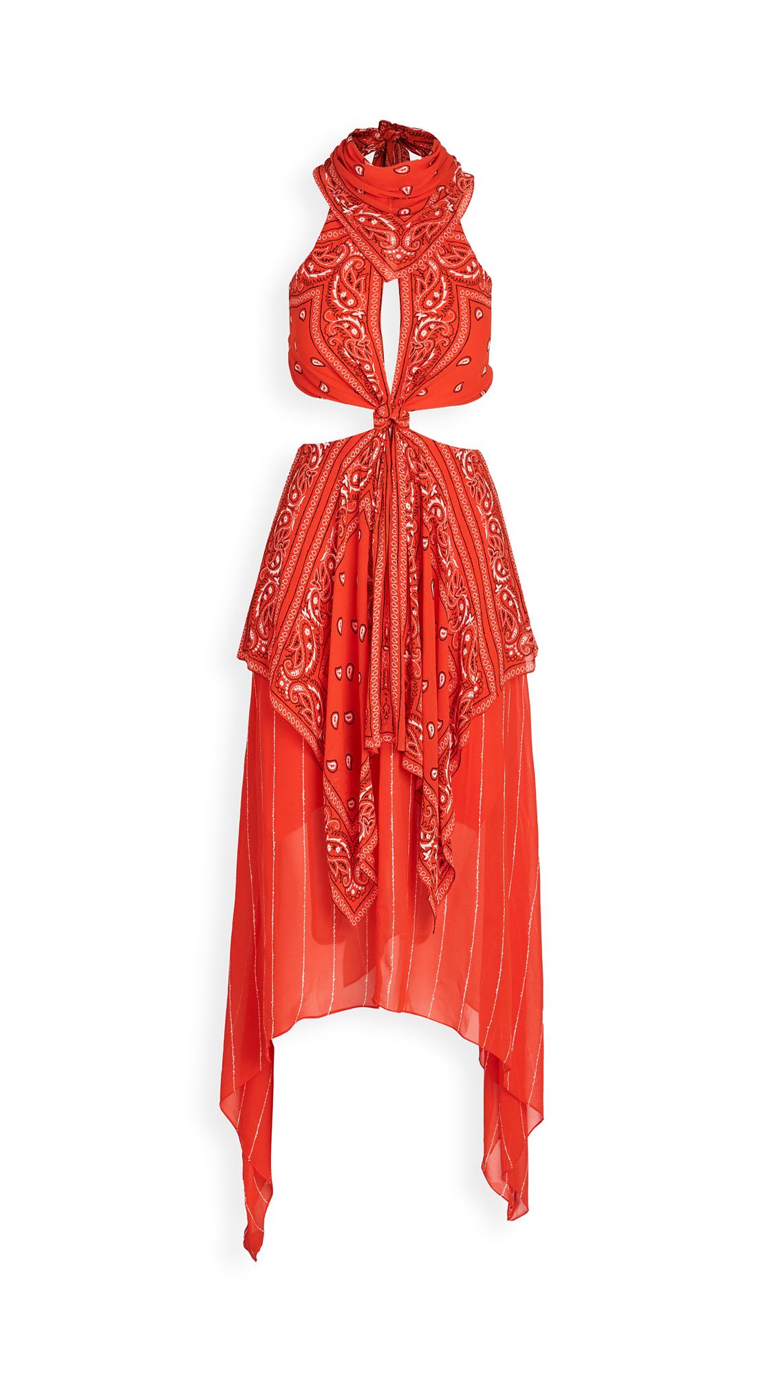 Dion Lee Bandana Knot Dress - 50% Off Sale