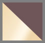 Black Rhodium Gold/Dark Gray