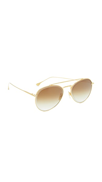 DITA Axial Sunglasses - Yellow Gold/Gold Flash