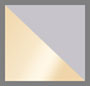 Satin Crystal Grey/Milky Gold