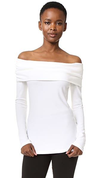 Derek Lam Off Shoulder Top - White