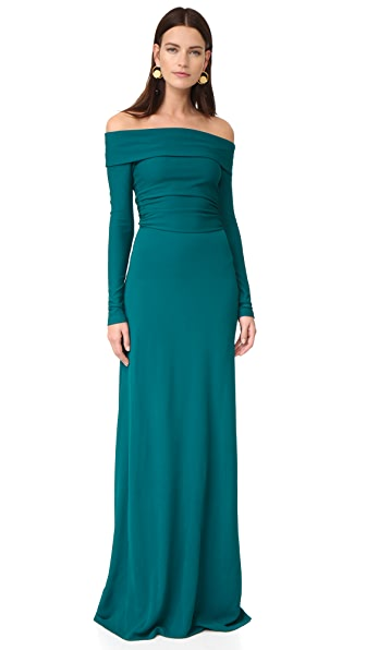 Derek Lam Off the Shoulder Gown