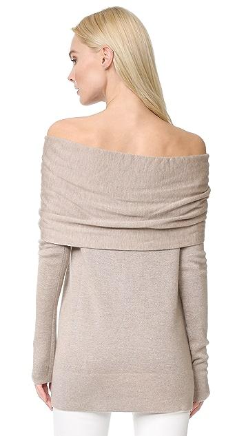 Derek Lam Off Shoulder Twist Sweater