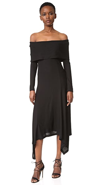 Derek Lam Off Shoulder Dress