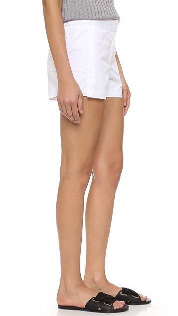 DKNY Elastic Waist Shorts