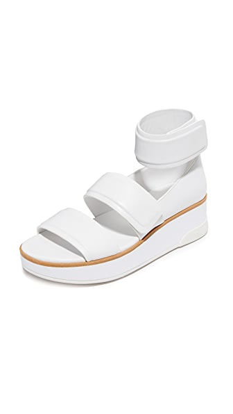 Dkny Sia Sandals - White at Shopbop