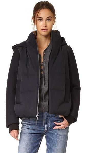 DKNY Pure DKNY Mixed Media Coat