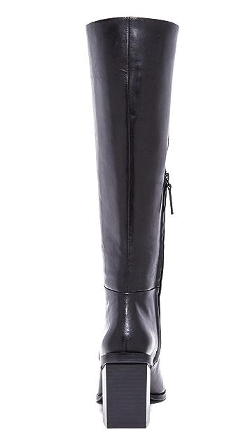 DKNY Pilar Knee High Pointy Boots