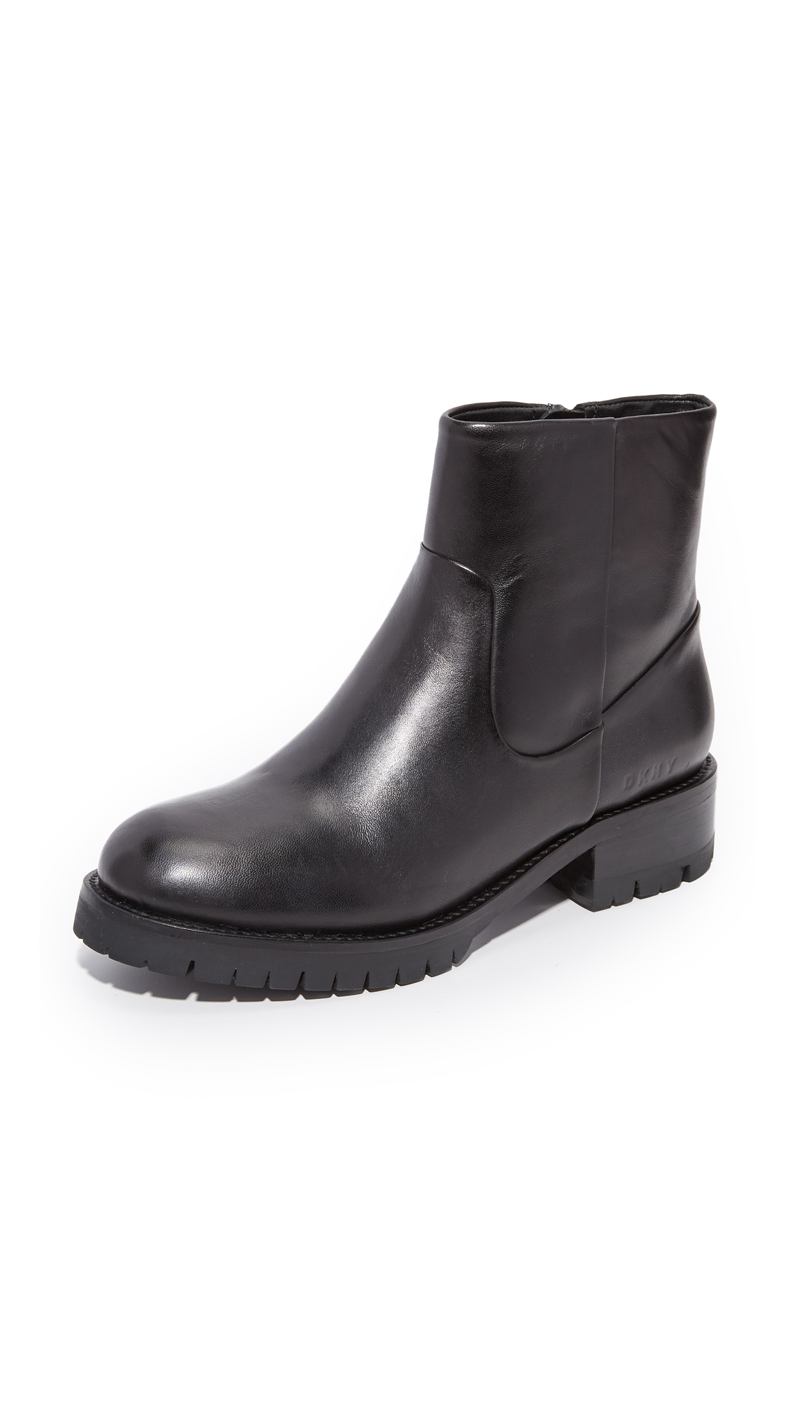 Dkny Mitch Ankle Riding Boots - Black