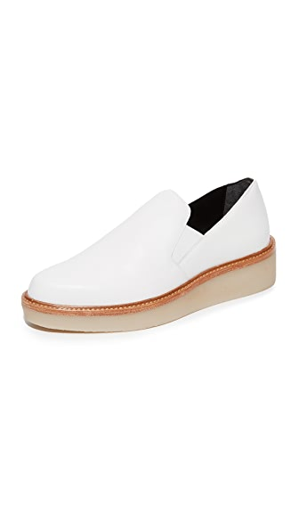 Dkny Kara Platform Loafers - White at Shopbop