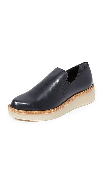 Dkny Kara Platform Loafers - Black at Shopbop