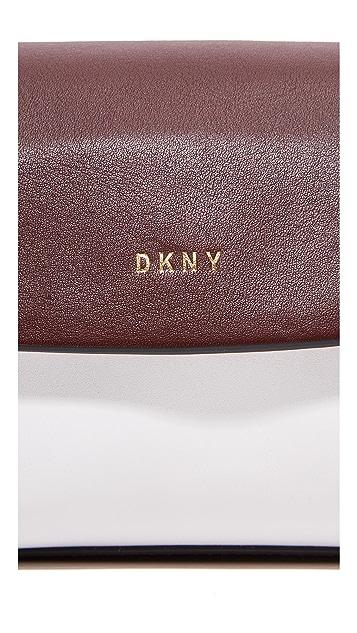 DKNY Greenwich Mini Flap Cross Body Bag