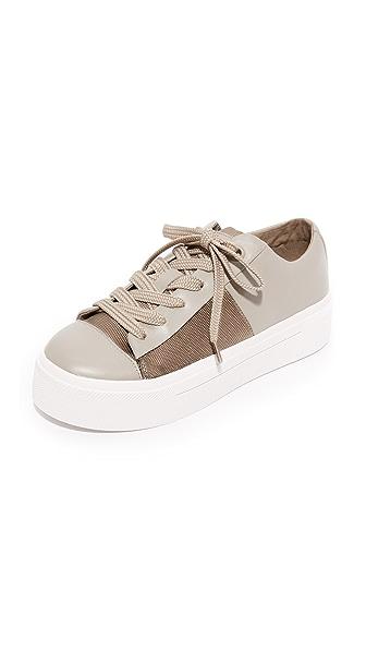 DKNY Bari Platform Sneakers - Clay/Dark Clay
