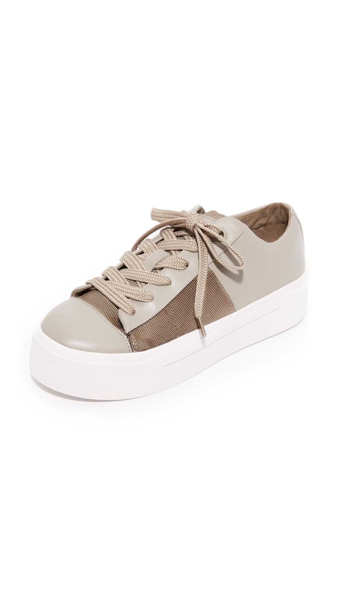 Dkny Bari Platform Sneakers - Clay/Dark Clay at Shopbop