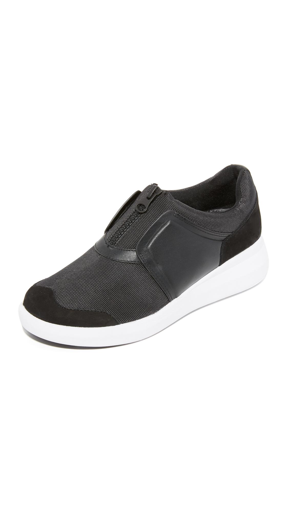 Dkny Taylor Zip On Sneakers - Black at Shopbop