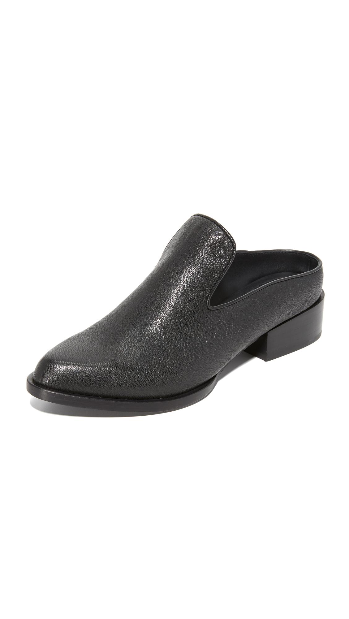 Dkny Lark Mules - Black at Shopbop