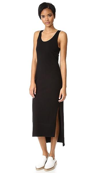 DKNY Платье без рукавов с боковыми разрезами