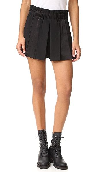 DKNY Pull On Paneled Shorts at Shopbop