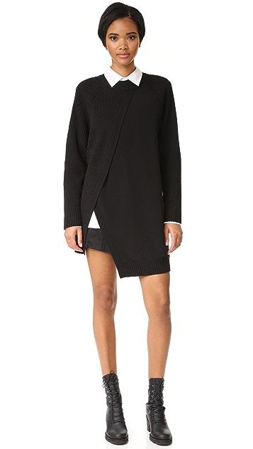 DKNY Pull On Paneled Shorts