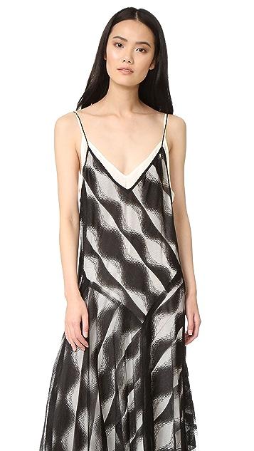 DKNY Sleeveless Slip Dress
