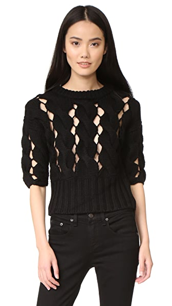 DKNY Cropped Sweater at Shopbop