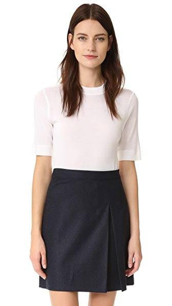 Dkny Pure Dkny Short Sleeve Crew Neck Tee - White at Shopbop