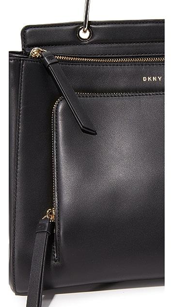 DKNY Grennwich Medium Top Handle Satchel