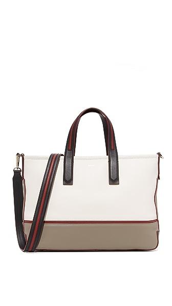 DKNY Объемная сумка с короткими ручками Greenwich среднего размера