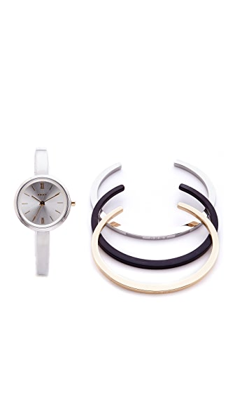 DKNY Watch & Bracelet Gift Set at Shopbop