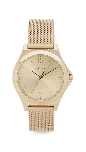 Dkny Parsons Watch - Gold/Stainless Steel at Shopbop