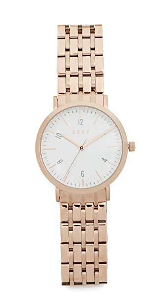 Dkny Minetta Watch - Rose Gold at Shopbop
