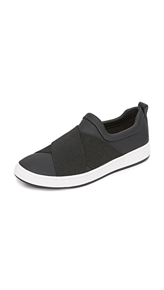 DKNY Brayden Sock Slip On Sneakers - Black