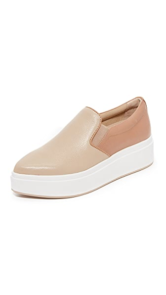 DKNY Trey Platform Slip On Sneakers