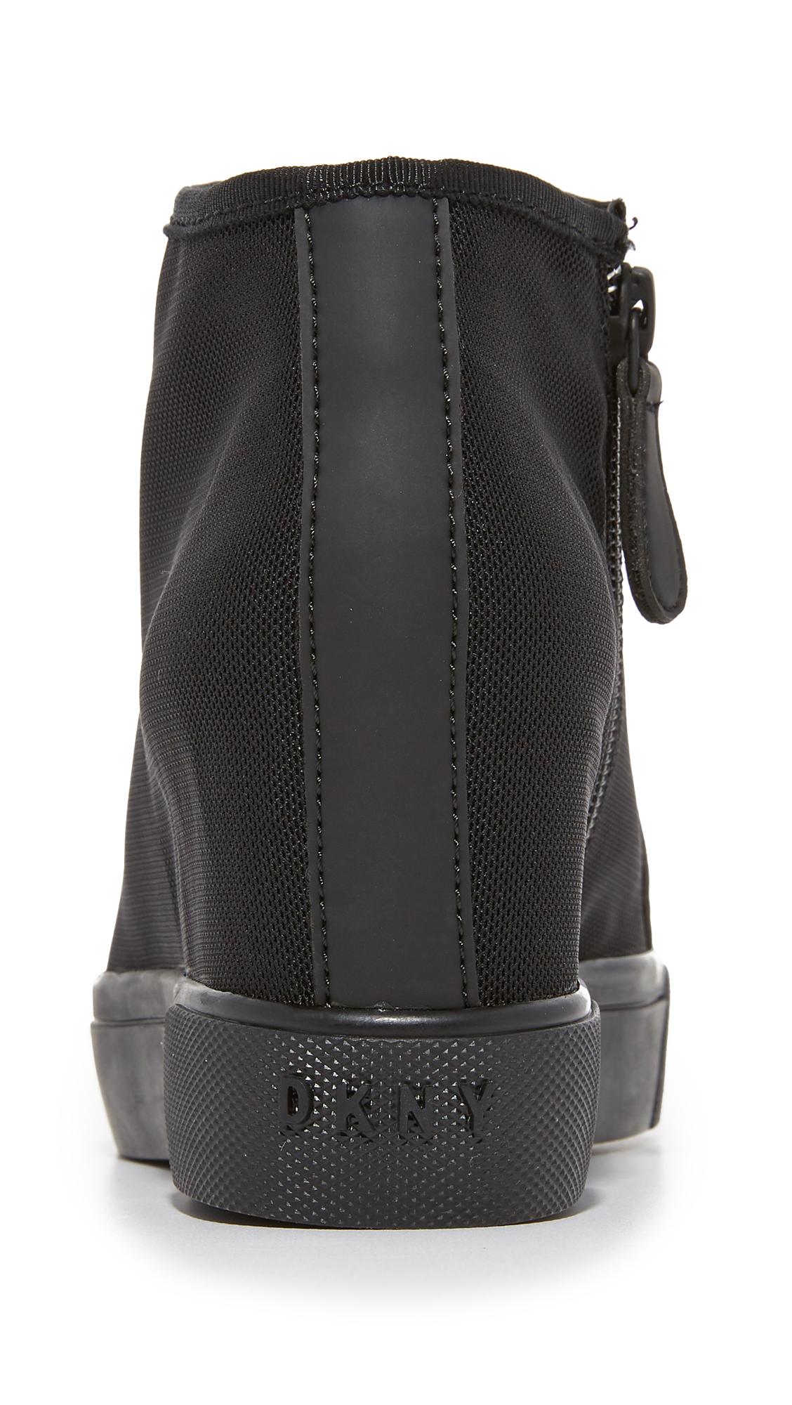 489dc6b219db DKNY Cindy Mesh Wedge Sneakers