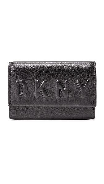 DKNY Визитница с тиснением