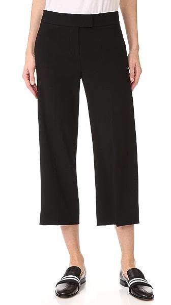 DKNY Широкие укороченные брюки