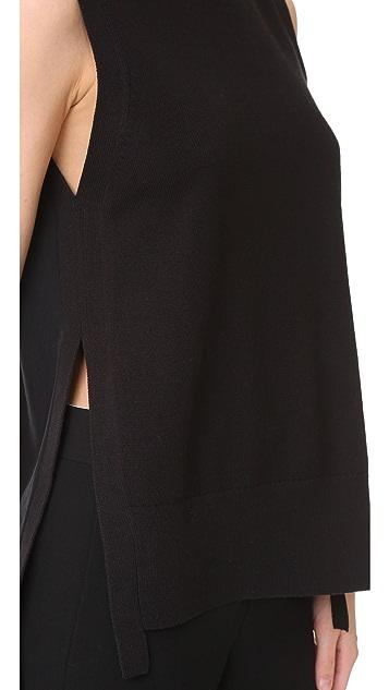 DKNY Sleeveless Sweater