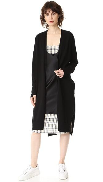 DKNY Long Sleeve Cardigan at Shopbop