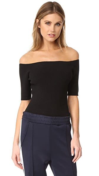 DKNY Off Shoulder Bodysuit