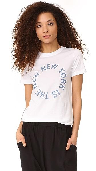 DKNY Футболка с округлым вырезом и логотипом New York