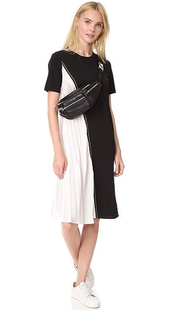 DKNY Dress with Pleats
