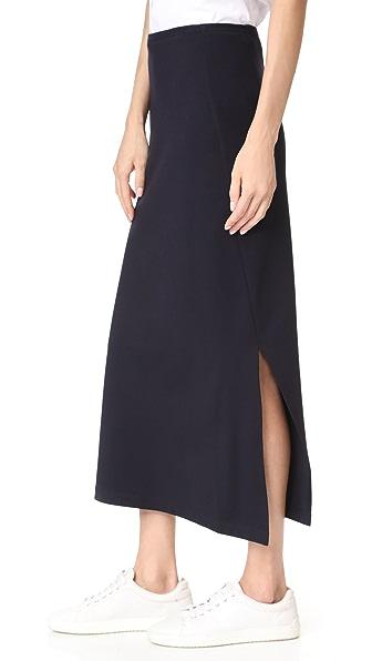 DKNY Compression Ponte Midi Skirt