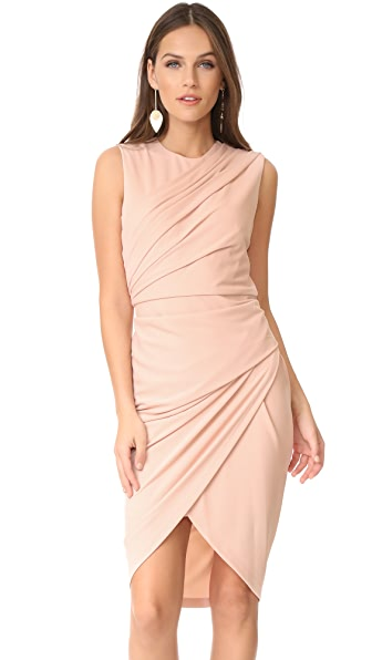 Фото DKNY Платье без рукавов. Купить с доставкой