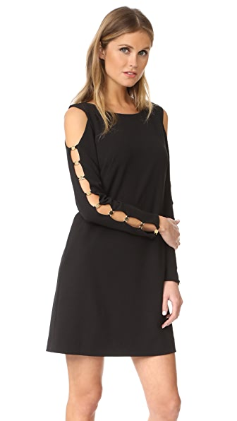 DKNY Long Sleeve Dress