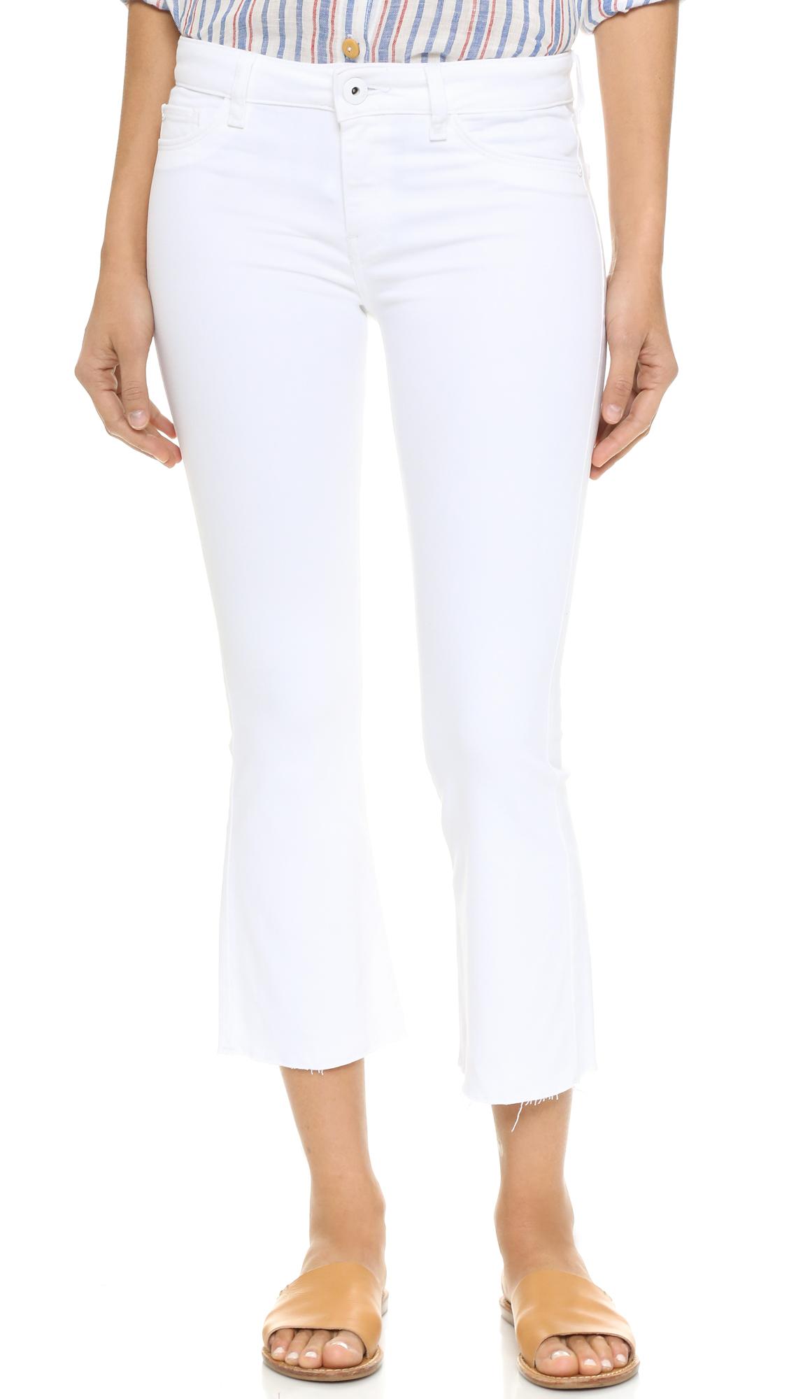 2a40618ba4d DL1961 Lara Cropped Flare Jeans